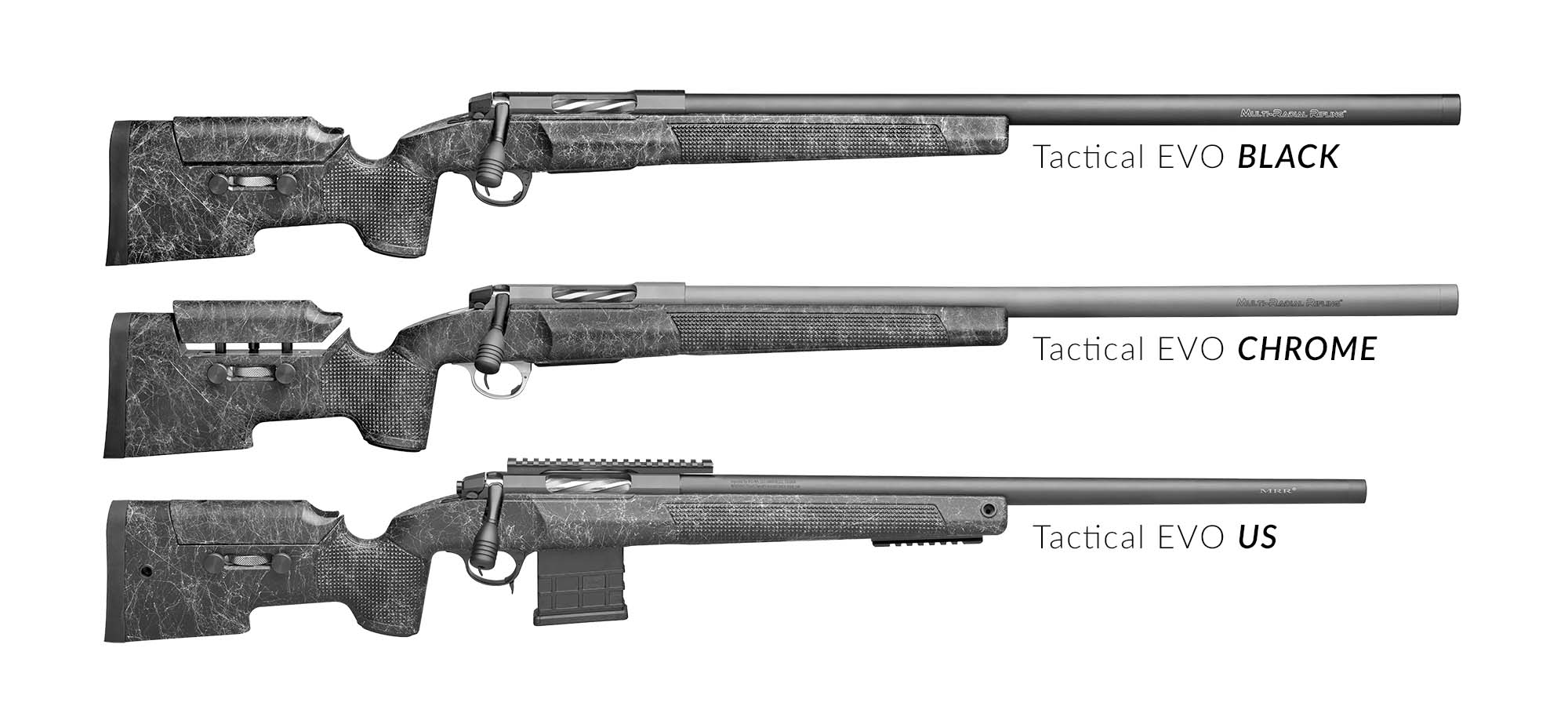Sabatti Tactical EVO - Models